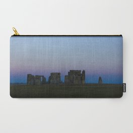 Stonehenge In Pink Carry-All Pouch
