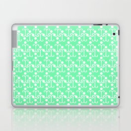 Lattice Pattern (Mint) Laptop & iPad Skin