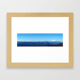 Mountain Panoramic Framed Art Print