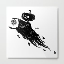 The Spectre of Autumn Metal Print