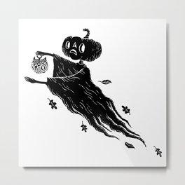 The Spectre of Autumn Metal Print