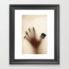 Handy hand Framed Art Print