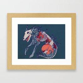 Void Hound Framed Art Print