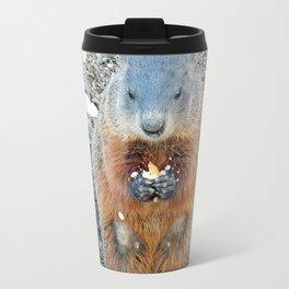 Ground Hog Metal Travel Mug
