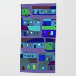 Tepito de Azul Beach Towel