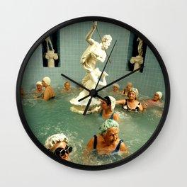 Rub A Dub Dub Oldie Hawn In Da Tub Wall Clock