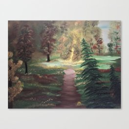 Warm Autumn day Canvas Print