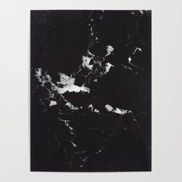 Black Marble #1 #decor #art #society6 Poster