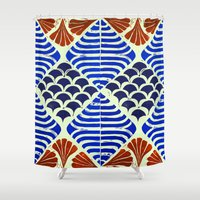 florence Shower Curtains featuring Florence  by Indigo Images
