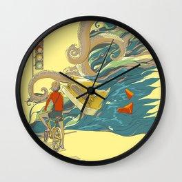 Traffic Monday Wall Clock