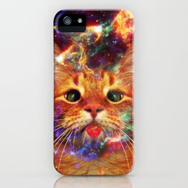 Silly Cat iPhone Case