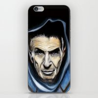 spock iPhone & iPod Skins featuring Spock by James Kruse