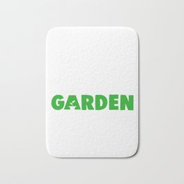 Eat Sleep Garden Repeat Bath Mat