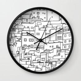 1001 Houses Wall Clock