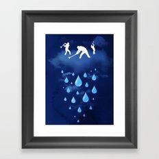 Right as Rain Framed Art Print