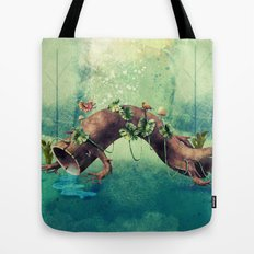 Forest Creature Tote Bag