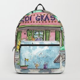 Mardi Gras N'Awlins Backpack