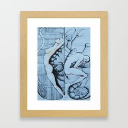 Scorpio Framed Art Print