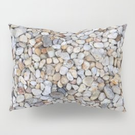 Beach Pebbles Pillow Sham