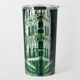 Memorial Glass Prism Engraving at Salisbury Cathedral by Rex Whistler Travel Mug