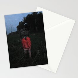 Somebody in the woods. Stationery Cards