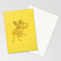 the Yellow Kracken Stationery Cards