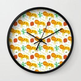 little cute lion pattern Wall Clock