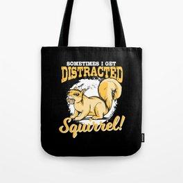 Squirrel T-shirt Gift Kids Tote Bag