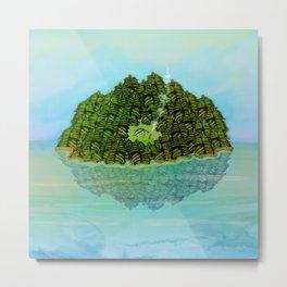 GREENERY HOME / Nature Metal Print