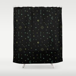 Symbology II Shower Curtain
