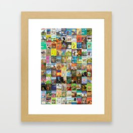 Children's Books Framed Art Print