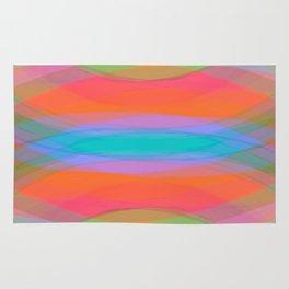 Fluor Rainbow Rug