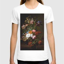 "Rachel Ruysch ""Vase with Flowers"" T-shirt"