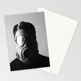 Czech M10M Gasmask Stationery Cards