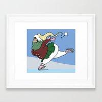 skate Framed Art Prints featuring Skate! by Roman Jones