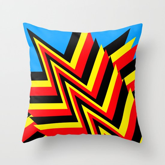 Swishy-Swashy Throw Pillow