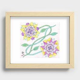 Flowers of Elume Recessed Framed Print
