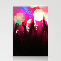 rave Stationery Cards featuring rave by xp4nder