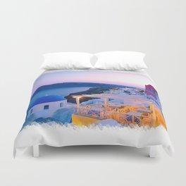 Santorini Sunset II Duvet Cover