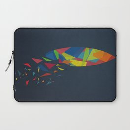 Surfboard abstract triangle Laptop Sleeve