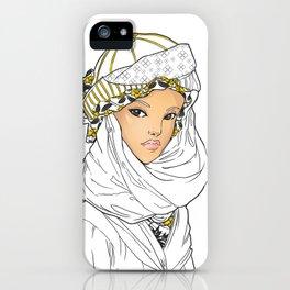 Bedouin Girl iPhone Case