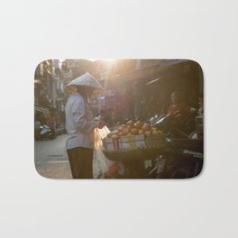 Vietnam Streets Bath Mat