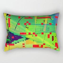 a real juicy avocado Rectangular Pillow