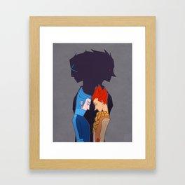 Lea & Isa- Duality Framed Art Print