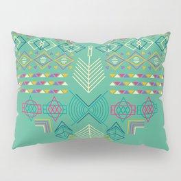 Aztec Heart Pillow Sham