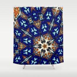 Herald Kaleidoscope Shower Curtain