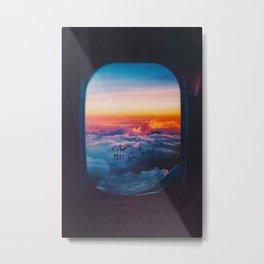 Missed Flight Metal Print