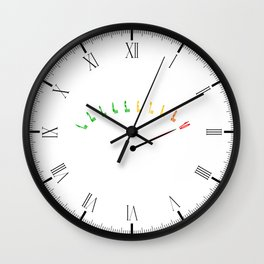 Stress Level Wall Clock