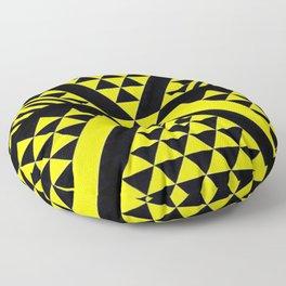 Black & Yellow Floor Pillow