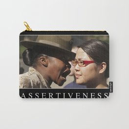 Assertiveness: Inspirational Quote and Motivational Poster Carry-All Pouch